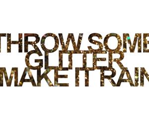 glitter and rain image