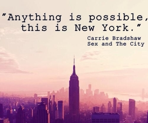Carrie Bradshaw, new york, and sex and the city image