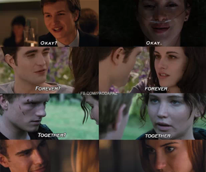 twilight, divergent, and the hunger games image