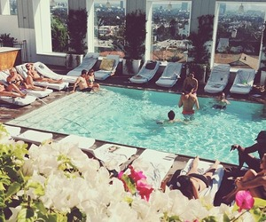 summer and pool image