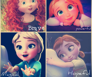 brave, disney, and Powerful image