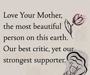 mother, love, and quote image