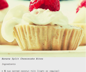 banana, cake, and cheesecake image