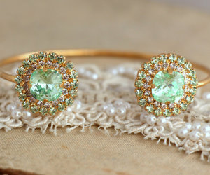 bracelet, cuff, and diamond image