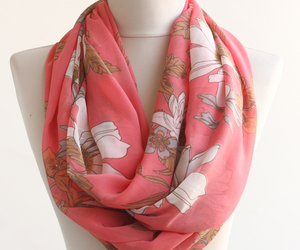 spring fashion, summer fashion, and spring scarf image