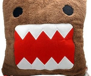 brown, domo, and pillow image