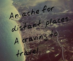 travel, quote, and wanderlust image