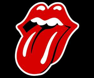 rolling stones, red, and tongue image