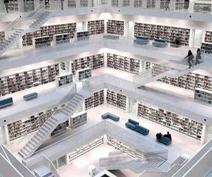book, library, and germany image