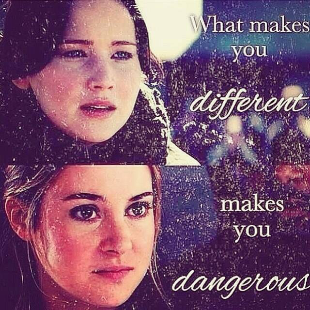 divergent, tris, and the hunger games image