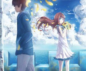 anime, nagi no asukara, and anime girl image