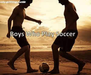football, soccer, and soccerboys image