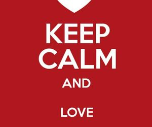 keep calm, detective conan, and love image