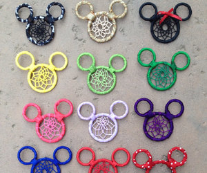 disney, dreamcatcher, and mickeymouse image