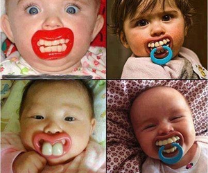 baby, lips, and lol image