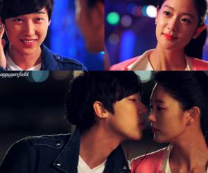 clara, kiss, and Korean Drama image