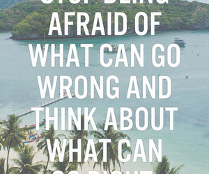 quote, afraid, and summer image