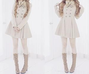 fashion, kfashion, and winter image