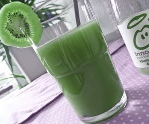 drink, fruit, and green image