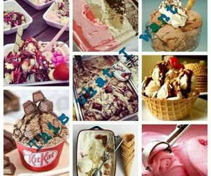 delicious, kitkat, and ice cream image
