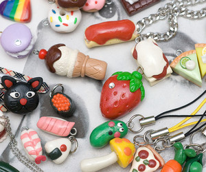 food and polymer clay image