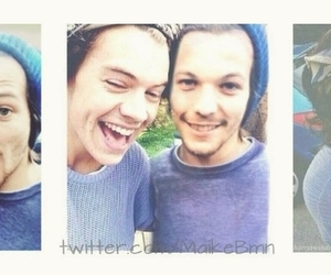 Harry Styles, louis, and louis tomlinson image