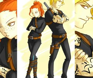 jace, clary, and clary fray image