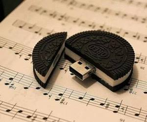 music, pen drive, and OMG image