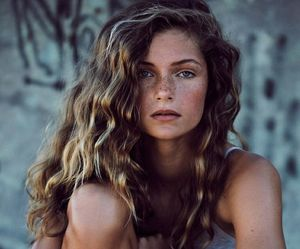 natural beauty, woman, and picture image
