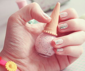 glace, cute, and nails image