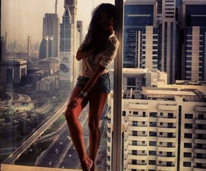 girl, city, and style image