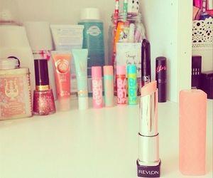 pink, makeup, and cosmetics image