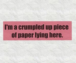 Lyrics, red, and Paper image