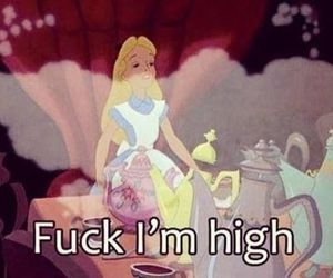 alice in wonderland and lawl image