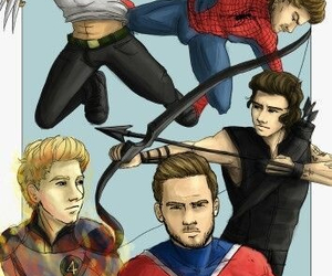 heroes, harry, and one direction image