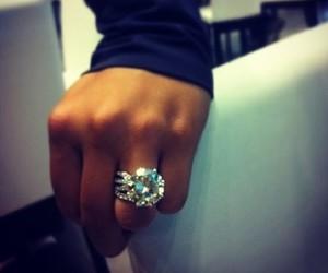 diamond, girl, and luxury image