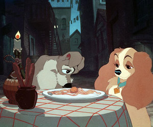 disney, love, and lady and the tramp image