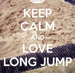 athletics, jump, and keep calm image