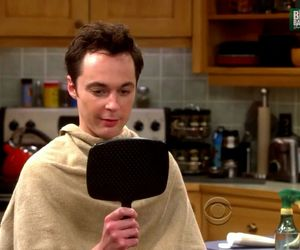 funny, tbbt, and hair image