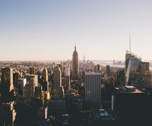 new york, city, and building image
