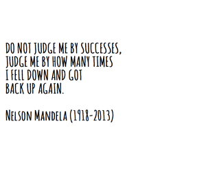 nelson mandela, quote, and success image