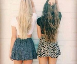hair, summer, and blonde image