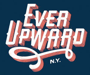 new york, ever upwards, and state motto image