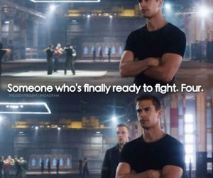 fight, four, and quote image