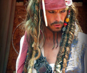 captain jack sparrow, disney world, and photography image