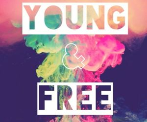young, free, and smoke image