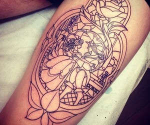 ink, tatto, and tattoo image
