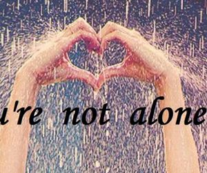 alone, I Love You, and not image