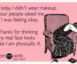 funny, lol, and makeup image
