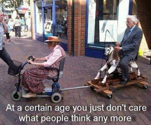 age, don't care, and funny image